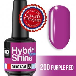 Hybrid Shine System Color Coat UV/LED 2/200 Purple Red 8ml