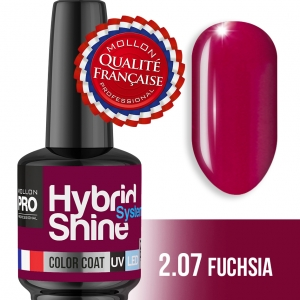 Hybrid Shine System Color Coat UV/LED 2/07 Fuchsia 8ml