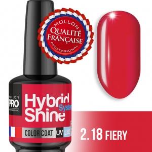 Hybrid Shine System Color Coat UV/LED 2/18 Fiery 8ml