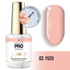 Luxury Gel Polish Color Coat 03 Yuzu 8ml