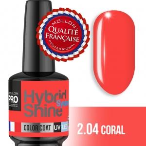 Hybrid Shine System Color Coat UV/LED 2/04 Coral 8ml