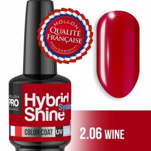 Hybrid Shine System Color Coat UV/LED 2/06 Wine 8ml