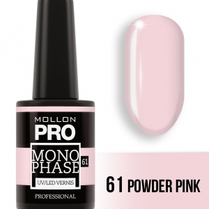 Monophase UV/LED Vernis 61 Powder Pink 10ml