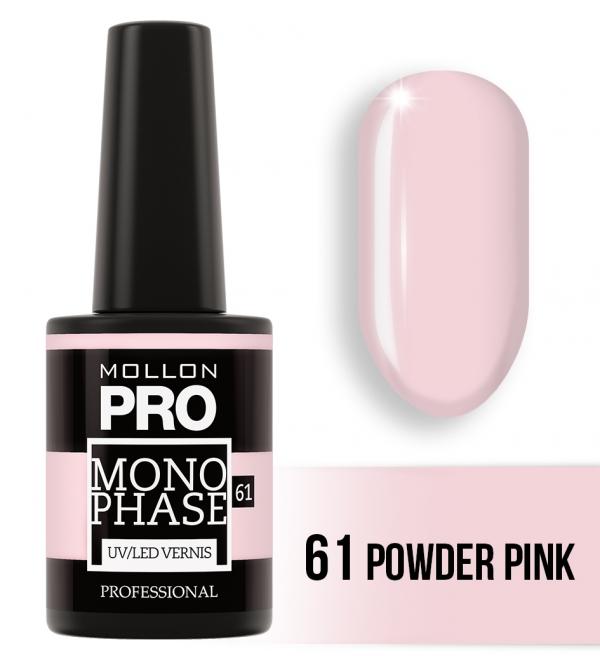 Monophase UV/LED Vernis 61 Powder Pink 10ml