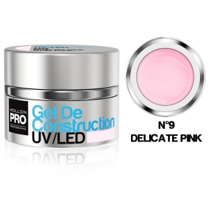 Gel de Construction UV/LED 09 Delicate Pink 30ml
