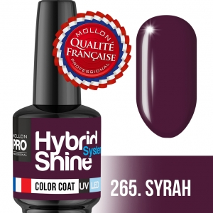Hybrid Shine System Color Coat UV/LED 265 Syrah 8ml