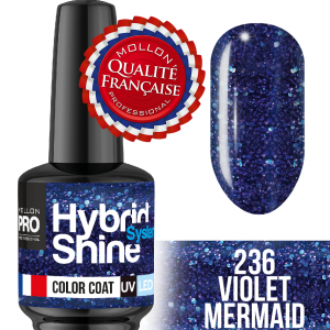 Hybrid Shine System Color Coat UV/LED 236 Violet Mermaid 8ml