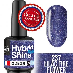 Hybrid Shine System Color Coat UV/LED 237 Lilac Fire 8ml