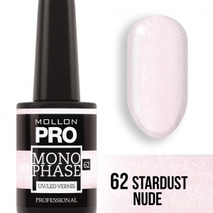 Monophase UV/LED Vernis 62 Stardust Nude 10ml