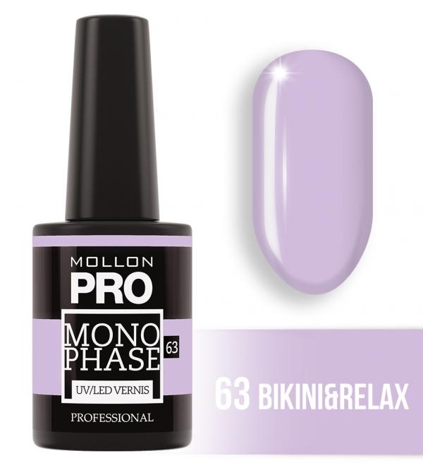 Monophase UV/LED Vernis 63 Bikini&Relax 10ml