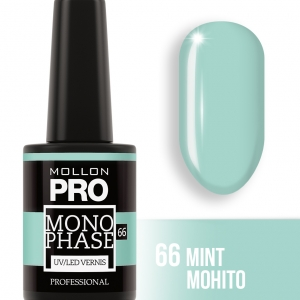 Monophase UV/LED Vernis 66 Mint Mohito 10ml