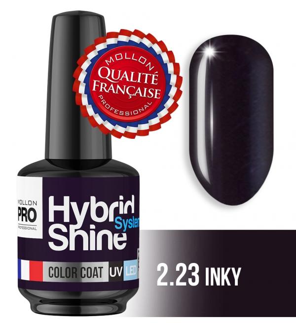 Hybrid Shine System Color Coat UV/LED 2/23 Inky 8ml