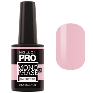 Monophase UV/LED Vernis 50 Delicate Rose 10ml