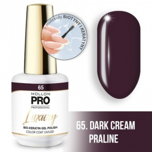 Luxury Gel Polish Color Coat 65 Dark Cream Praline 8ml