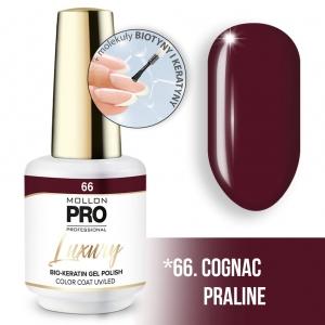 Luxury Gel Polish Color Coat 66 Cognac Praline 8ml