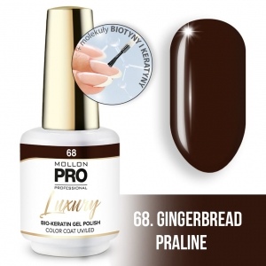 Luxury Gel Polish Color Coat 68 Gingerbread Praline 8ml