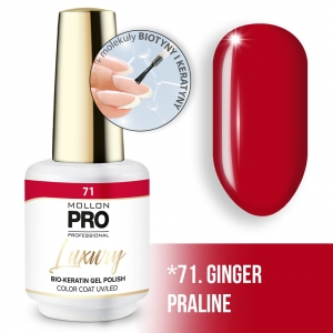 Luxury Gel Polish Color Coat 71 Ginger Praline 8ml