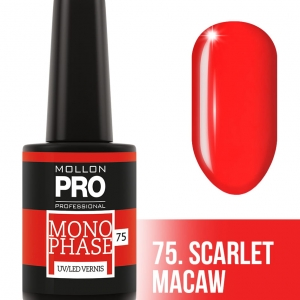 Monophase UV/LED Vernis 75 Scarlet Macaw 10ml