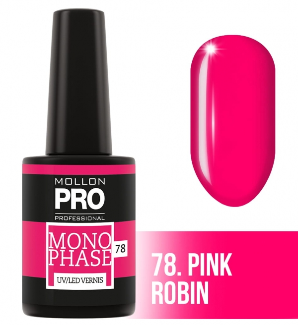 Monophase UV/LED Vernis 78 Pink Robin 10ml