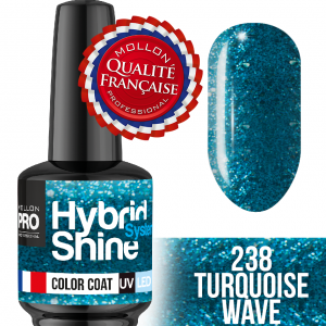 Hybrid Shine System Color Coat UV/LED 238 Turquise Wave 8ml