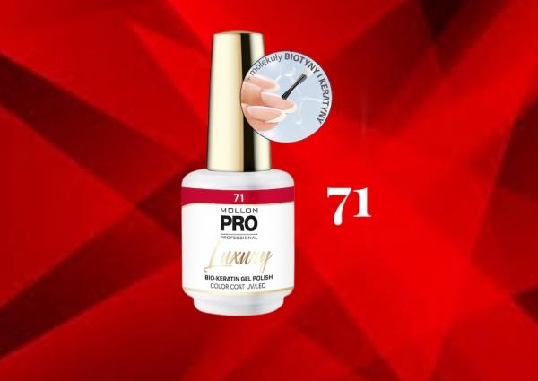 Luxury Gel Polish Color Coat 71 Ginger Praline 8ml