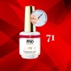 Luxury Gel Polish Color Coat 70 Tea Praline 8ml