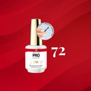 Luxury Gel Polish Color Coat 72 Red Currant Praline 8ml