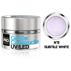 Gel de Construction UV/LED 08 Subtle White 30ml