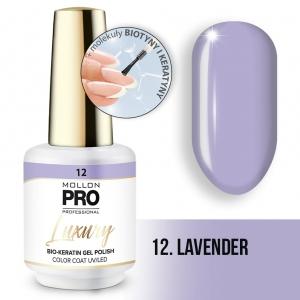 Luxury Gel Polish Color Coat 12 Lavender 8ml