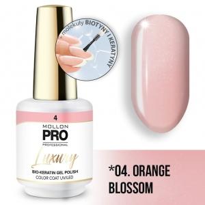 Luxury Gel Polish Color Coat 04 Orange Blossom 8ml