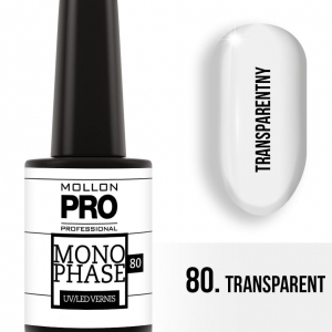 Monophase UV/LED Vernis 80 Transparent 10ml