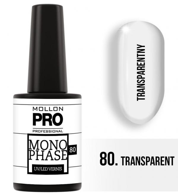 Monophase UV/LED Vernis 80 Transparent 10ml