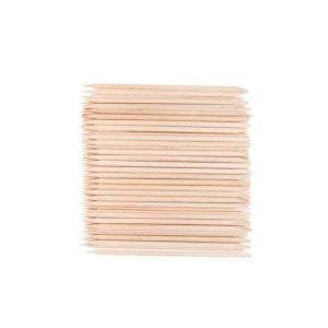 Wooden Cuticle Sticks 100pcs