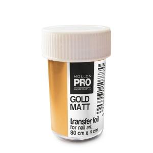 Transfer Foil Gold Matt 4cm x 80cm