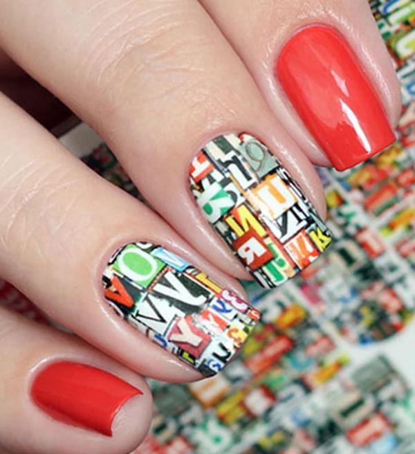 Nail Art Stickers N332