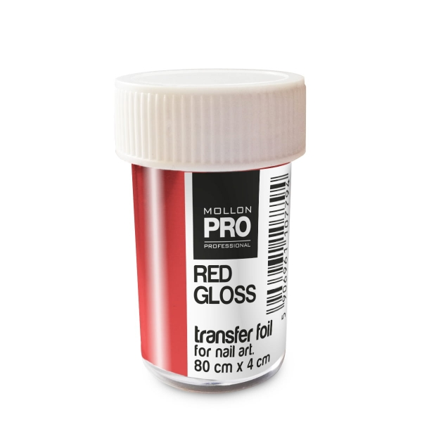Transfer Foil Red Gloss 4cm x 80cm