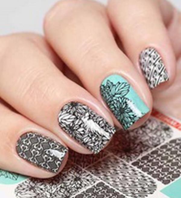 Nail Art Stickers N624