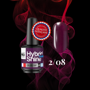 Hybrid Shine System Color Coat UV/LED 2/08 Plum 8ml