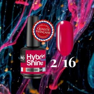 Hybrid Shine System Color Coat UV/LED 2/16 Amaranth 8ml