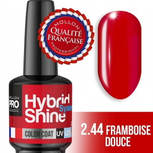 Hybrid Shine System Color Coat UV/LED 2/44 Framboise Douce 8ml