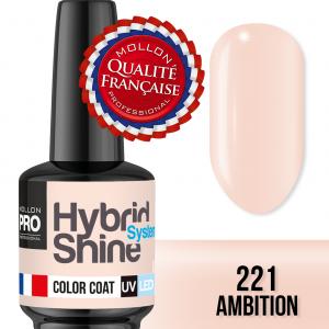 Hybrid Shine System Color Coat UV/LED 221 Ambition 8ml