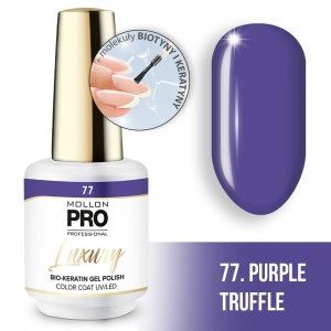Luxury Gel Polish Color Coat 77 Purple Sorbet 8ml