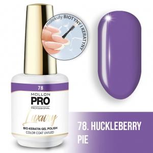 Luxury Gel Polish Color Coat 78 Huckleberry Pie 8ml