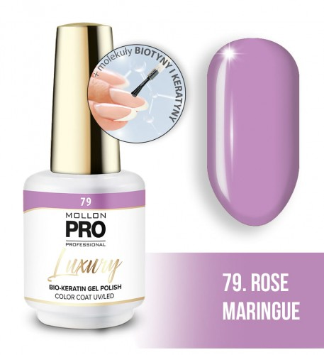 Luxury Gel Polish Color Coat 79 Rose Maringue 8ml
