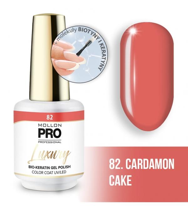 Luxury Gel Polish Color Coat 82 Cardamon Cake 8ml
