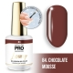 Luxury Gel Polish Color Coat 85 Fudge Candy 8ml