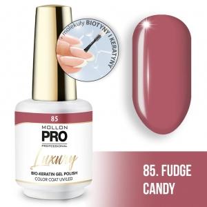 Luxury Gel Polish Color Coat 85 Fudge Candy 8ml