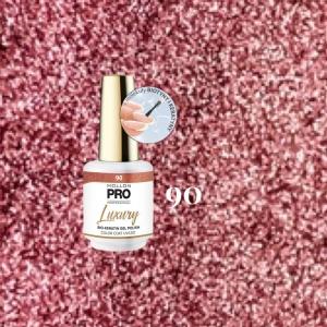 Luxury Gel Polish Color Coat 90 Sugar Confetti 8ml