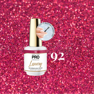 Luxury Gel Polish Color Coat 92 Sweet Glitter 8ml
