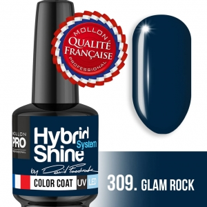 Hybrid Shine System Color Coat SIGNATURE by DAWID FOODROCK – 309 GLAM ROCK 8ml